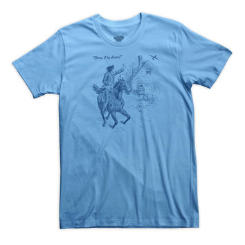 Three If By Drone Paul Revere's Ride Shirt