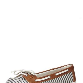 Blue stripe 'Lanai' boat shoes - View All Shoes & Boots - Shoes & Boots
