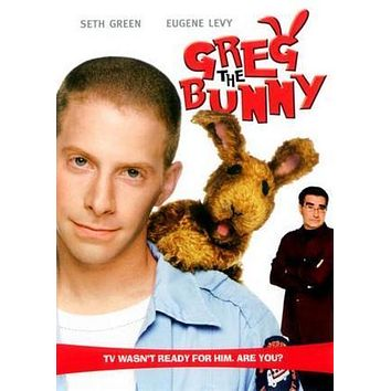 Greg The Bunny poster Metal Sign Wall Art 8in x 12in