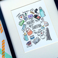 Anatomy of a Diaper Bag Print
