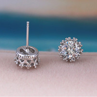 Earrings Studs Imperial Crown 2017
