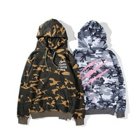 Camouflage Hats Winter Unisex Hoodies [11132260935]