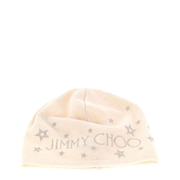 Jimmy Choo White Bonnet