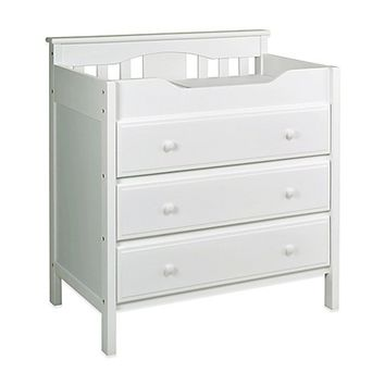 DaVinci Jayden 3-Drawer Changer Dresser in White