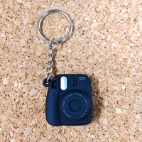 Fujifilm Instax Mini 8 Camera Keychain Small Key Chains Accessories