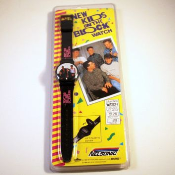 New Kids on the Block Vintage Watch Geek Chic by goodmerchants