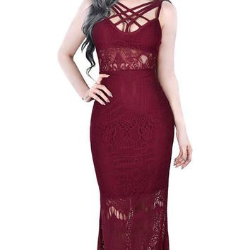 Deadly Beloved [Wine] | MAXI DRESS