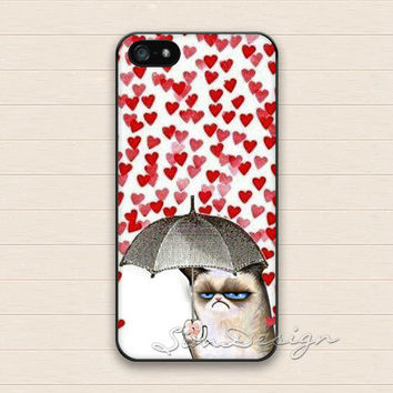 Cat iPhone 5 5s Case,iPhone 4 4s Case,iPhone 5C Case,Samsung Galaxy S3 S4 S5 Case,Cute heart Love Cats Hard Plastic Rubber Cover Skin Case