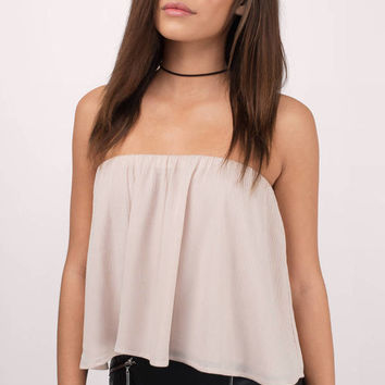 Ivy Strapless Top