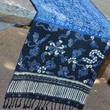 Table Runner In Balinese And Hmong Indigo Batik