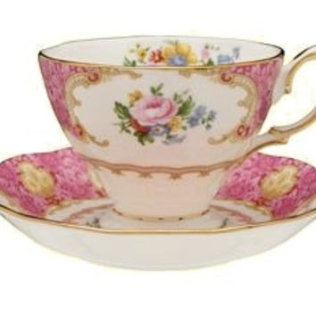Lady Carlyle Tea Cup and Saucer