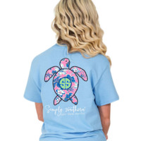 Simply Southern Save The Turtles - Blue
