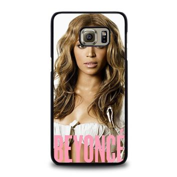 beyonce knowles samsung galaxy s6 edge plus case cover  number 1