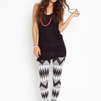 Tribal Stripe Leggings in Clothes Bottoms at Nasty Gal