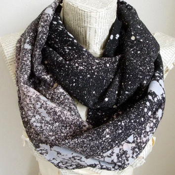 Nebula Space Galaxy Infinity Scarf Loop Scarf Circle Scarf Gift Ideas For Her Women Fashion Accessories Summer Scarf Spring Scarf