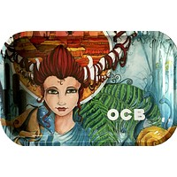 OCB OX Goddess Rolling Tray (Small)