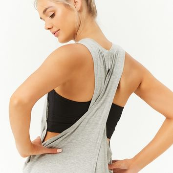 Active Crisscross-Back Muscle Tee
