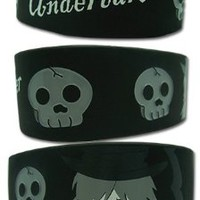 Black Butler Undertaker Wristband