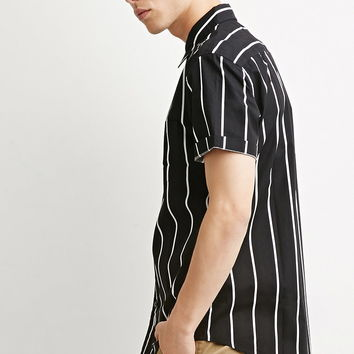 Striped Pocket Shirt | 21 MEN - 2000155013