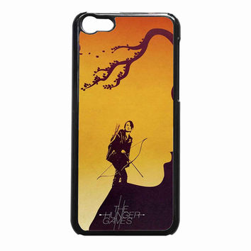the hunger games art c7914d58-6161-4bcb-abad-4fdaea21fc5f FOR iPhone 5C CASE *NP*