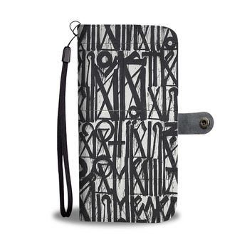 Black & White Phone Wallet Case