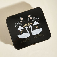 Swan for the Books Keepsake Tin