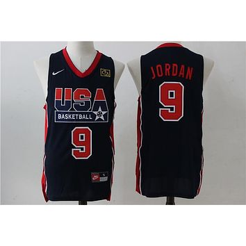 USA Basketball Dream Team Jerseys #9 Michael Jordan