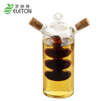 Creative Kitchen Oil and vinegar bottles sauce glass jar sealed multifunction seasoning glass storage bottle wine bottle for bar