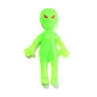 Green Alien Plastic Pin