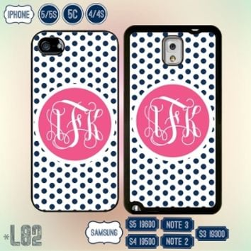Monogram Samsung Galaxy Note 4 Case iPhone 6 cover IPod touch 5 5S S4 S3