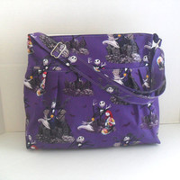 Nightmare Before Christmas Diaper Bag - Diaper Bag -Jack- Messenger Bag - Nappy Bag - Crossbody - Deer Diaper Bag - Cross Body