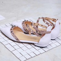Valentino Women Fashion Casual High Heels Shoes Sandals Shoes-1