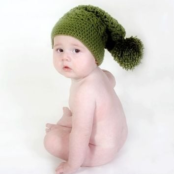 INSTANT DOWNLOAD Crochet Pattern Slouchy Pompom Hat - Sizes 12 Months to Ladies Welcome to sell finished items