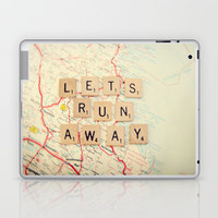 let's run away Laptop & iPad Skin by shannonblue | Society6