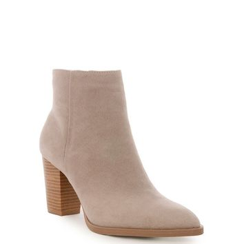 Taupe Tiber Suede Bootie