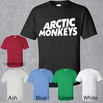 Arctic Monkeys T shirt English Rock band High quality Fast shipping
