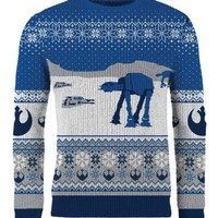 Star Wars: Happy Hoth-idays Knitted Christmas Sweater/Jumper - Merchoid