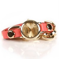 SALE-Coral Wrap Watch