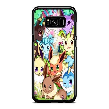 Eeveelution Eevee Vaporeon Samsung Galaxy S8 Plus Case