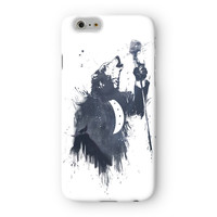 Wolf Song 3 Full Wrap High Quality 3D Printed Case for Apple iPhone 6 by Balazs Solti