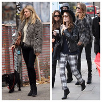 Topshop Tipped Yeti Fur Coat 4 Xs