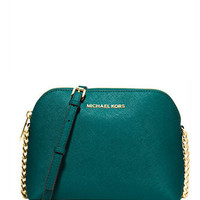Michael Michael Kors Cindy Large Saffiano Dome Crossbody