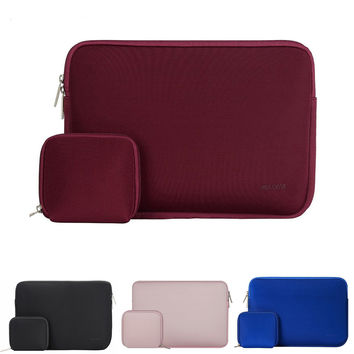 Mosiso Water Repellent Portable Sleeve Bag Cover for Macbook Air Pro 13 15 Notebook Asus Acer HP Lenovo 11.6 13.3 15.6 inch