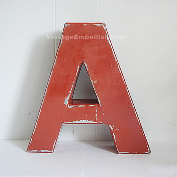 Best vintage channel letters products on wanelo for 24 inch channel letters