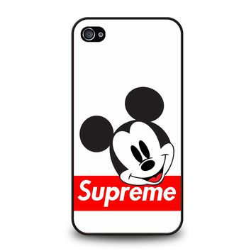 MICKEY MOUSE SUPREME iPhone 4 / 4S Case