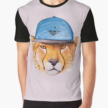'Cheetah' Camiseta gráfica by Lostanaw