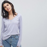 Abercrombie & Fitch Classic V Neck Knitwear at asos.com