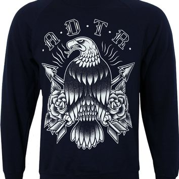 A Day To Remember Eagle Men's Navy Sweatshirt - Buy Online at Grindstore.com