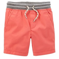Carter's Solid Canvas Shorts - Baby Boy, Size: