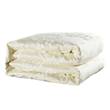 Golden white pink mulberry silk comforter/blanket/bedspreads/duvet/bedclothes/quilt filler king queen full twin summer&winter
